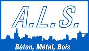 Logo ALS Béton Métal Bois
